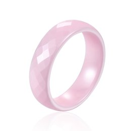 Wholesale Top Beautiful Rings - Top quality Not Afraid Of Water Without Scratches 6mm Wide 4 Color Ceramic Ring Exquisite Beautiful Gift Ring Jewelry For Woman