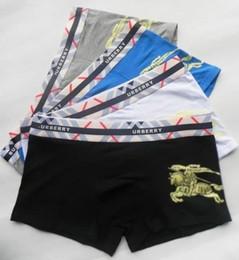 Wholesale Wholesale Designer Underwear - Hot brand Fashion Men Underwear Boxers Soft Cotton M-XXL Breathable Letter Underpants Shorts Luxury Brand Designer Cuecas boxers