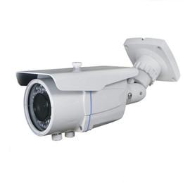 Poe ballet ao ar livre on-line-POE IP Câmera HD 720 P 960 P 1080 P Outdoor WaterproofBuilt-in 2.8-12mm 2MP Lente de Zoom Manual Onvif 48 V POE Câmera de Rede de Bala