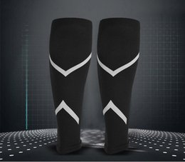 Wholesale Compression Calf Guard - Custom LOGO Compression Sleeve Basketball Football Soccer Leg Shin Guards Protective Calf Sleeves Cycling Running Accessories G456Q