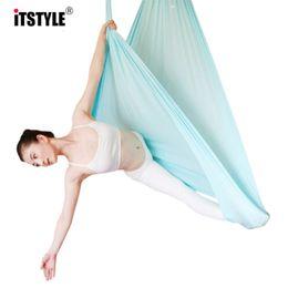 compteur multifonction Promotion 5 mètres d'élasticité Yoga Yoga Balançoire Multifonctions Ceintures de yoga anti-gravité pour l'entraînement