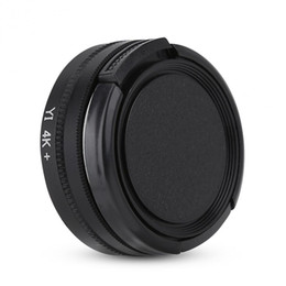 Wholesale 37mm cap - Lenses Accessories Camera Filters 37mm Circular Polarizer Lens Filter with Adapter Ring Protective Cap for Xiaomi Yi 4k 4k+ Lite