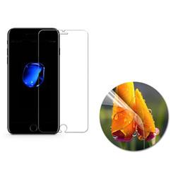 Vidro i6 on-line-0.3mm filme de vidro temperado para iphone 5 5s 9 h duro 3d 9 h protetor de tela para i6 6 s 6 plus se 4 4s i7 7 8 i8 plus para iphone x