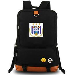 Anderlecht рюкзак Royal Sporting рюкзак футбольный клуб школьный футбольная команда рюкзак холст мешок школы Открытый день пакет от