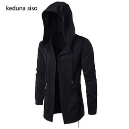 e8c4ce41bf7a assassins creed clothing jacket Coupons - Hoodies Men Black Cardigan Hoodie  Men Hooded Mantle Assassin Creed
