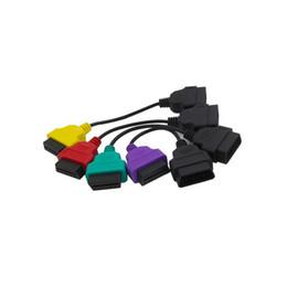 4 UNIDS Conjuntos Completos Multi ECUScan ECU Cable de Paquete de Adaptador de Exploración Para OBD OBD2 ECU Cables Cables ABS Airbag Escáner de Diagnóstico desde fabricantes