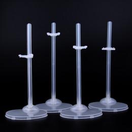 SHENGBOAO 10 unids / lote Transparen soporte de la muñeca titular de la pantalla para 1/6 muñecas alta DIY accesorios de juguete desde fabricantes