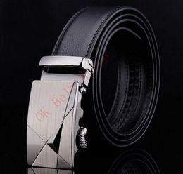 Wholesale 32 Leather Pants - Fashion Brand Leather Belts Hot Sale mens belts for men leather belt cowskin Automatic buckle business trouser strap pant ceinture homme Bb3