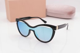 Wholesale Millionaire Sunglasses - Mens Womens Brand Sunglasses Evidence 0937 Sun glasses Designer Black Frame Glasses Millionaire MIU Eyewear Come With Case