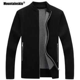 Mountainskin camisola dos homens casaco outono inverno quente cardigan  casacos de malha blusas grossas jaquetas masculinas mens marca clothing  sa598 611c960a1
