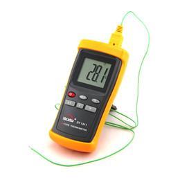 Termopar Termopar Industrial LCD Digital -200 ~ 1370C K-Tipo Pirômetro Com Um Sensor Medidor de Temperatura Da Sonda DT1311 em caixa de varejo de Fornecedores de sensor de termômetro