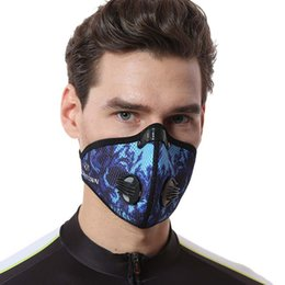 run equipment Coupons - Outdoor riding equipment riding mask mesh breathable activated carbon dustproof outdoor sports running mask