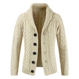 Argentina Suéter de invierno Nueva venta caliente medio largo para hombre suéter blanco Cardigan Trench Hombre otoño cálido abrigo chaqueta suéter de Navidad Suministro
