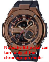 reloj de escalada deportiva Rebajas 2017 Relojes de los hombres de lujo de primeras marcas de deportes al aire libre reloj de pulsera multifunción LED analógico digital escalada reloj de choque reloj montre homme