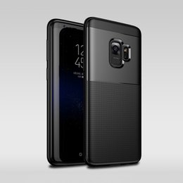 Wholesale Iphone Full Cases - Luxury Soft TPU Silicone Case 360 Full Case with Hard PC Back Cover All-inclusive Protection Anti-Fingerprint Anti-Scratch For Galaxy S9+ S9