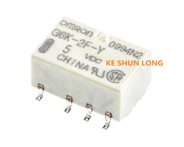 Wholesale 5vdc Relay - Free shipping lot(10pieces lot) 100%Original New G6K-2F-Y G6K-2F-Y-5VDC G6K-2F-Y-12VDC G6K-2F-Y-24VDC 8PINS 1A 5VDC 12VDC 24VDC Signal Relay