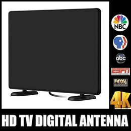 Wholesale High Gain Antennas - 120+Miles HDTV Antenna Indoor Digital TV Antenna For TV 4K 1080P Channels Free Gain 16Ft Coax Cable Signal High Reception Free DHL MOQ:10pcs