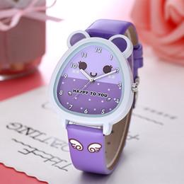 2019 relógio da escola Sociedade tagarelando relógios meninas piggy desenhos animados dos alunos da escola secundária das crianças dos alunos desconto relógio da escola