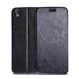 Wholesale Diamond Flip Cases - Original For UMIDIGI London Leather Case Flip Cover Luxury Protective Case For UMI london diamond Smart Phones black color