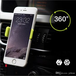 Wholesale apple outlets - Outlet Car phone holder Plastic Apple Car holder 360 ° rotation Safety anti-slip Easy to fix