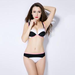 c0c7c46b481 New Summer Women Bikini Set Sexy Two-piece Swimming Wear Squeezing Chest Slings  Bikinis High Quality Swimsuit. Supplier  yuhaotian