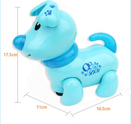 Wholesale Dog Musical - Walking Barking Musical Robot Dog Electronic pet Toys Interactive Electric Pets Robot Toy Dog Christmas Gift For Kids