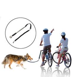 Cinghia di trazione della bicicletta del cane di vendita calda Pet BikeTraction Rope Bike Guinzaglio dell'attrezzo del guinzaglio dell'attaccante Hands Free Bike Bike leash da