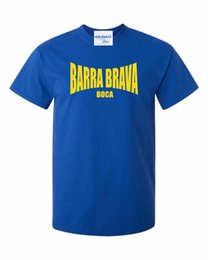 T-SHIRT LEQEMAO BARRA BRAVA BOCA -LA 12 JUNIORS FANS THEMED TEE ULTRAS TORCIDA HOOLIGANS T-shirt à manches courtes ? partir de fabricateur