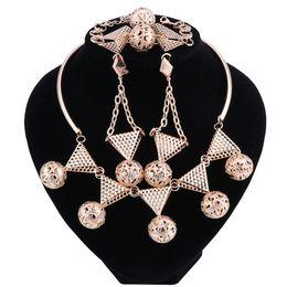 Wholesale Cheap China Jewellery - 2018 Jewelry Sets Nigerian Wedding Women Jewellery Set Luxury Indian Bridal Jewelry Sets Earrings Cheap Costume Jewelry