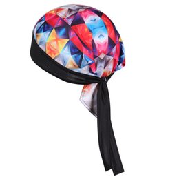 Chuangdi100% Polyester Thaddeus Esporte Ao Ar Livre Da Bicicleta Da Bicicleta Bandana Chapéu de Ciclismo Suor Cap Cabeça de Pirata Cachecol Headband Headwear de