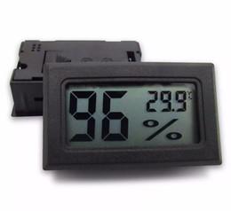 semi di mais all'ingrosso Sconti FY-11 Termometro ambiente Umidità -50-70C 10% ~ 99% RH Rilevazione Testina RH Mini LCD digitale Misuratore di temperatura Acquario Gauge Industria Igrometro