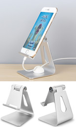Wholesale Universal Swivels - Universal Aluminum Swivel Desktop Stand Holder Mount For iPhone Samsung Tablets