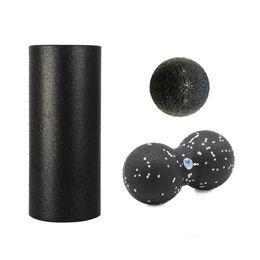 Set di rulli in schiuma online-Rullo di schiuma EPP Set 30cm Roller + 24 * 12cm Peanut Ball + 8cm Ball, EPP Massage Peanut Ball Set, 24 * 12cm + 16 * 8cm + 8 * 8cm Ball