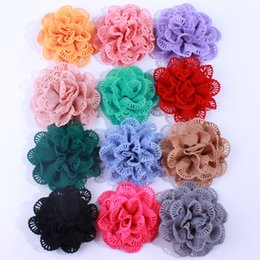Shop diy fabric flower hair clips uk diy fabric flower hair clips 50pcs 10cm chiffon fabric ballerina flowers for hair clips diy supplies weddings garment shoes accessories u pick color mightylinksfo