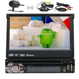 Wholesale Car Dvd Tv Gps Bluetooth - Android 6.0 1Din Auto radio Stereo Multi Screen Car DVD Player+GPS,BT,RDS,WIFI,Touch Screen + Rear View Camera + Remote Control