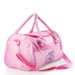 Girl s Dance Bag Multi-function Waterproof Handbag Large Space Dance Bag  Ballet Messenger Handbags Molle Pouch Gym Shoulder Bags 70c733fd9d6a1