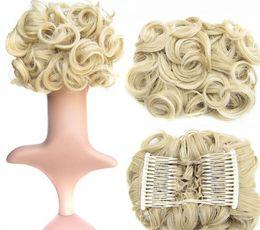 Vendita calda capelli elastici per capelli volumizzante scrunchie ciambella anello stile panino scrunchy calzino poof bump esso snooki spedizione gratuita da