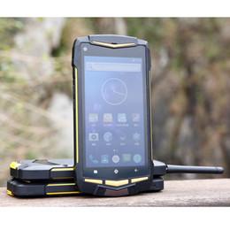 Wholesale Phone Walkie Talkie - New Dual Sim Dual Standby Rugged Andrid Waterproof Phone UHF Walkie Talkie 1920x1080 IP68 V1M Mobile touch phone hot sale
