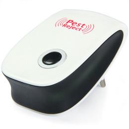 Mosquito Killer Rechazador electrónico Rechazo Ratón Repelente de insectos ultrasónico Ratón Anti roedor Rechazo de error UE EE. UU. Plug Universal desde fabricantes