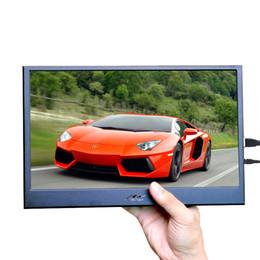 angle de vue lcd Promotion Moniteur LCD 10,1 pouces, résolution 1920x1200, angle de vue complet, entrée HDMI VGA pour moniteur PS3 / PS4 Raspberry Pi