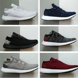 2019 chaussures de marque en tissu 2018 nouvelle mode Pure Ultra Boost GO III 3 Chaussures de running pour hommes et femmes Stretch Fabric chaussures de marque en tissu pas cher