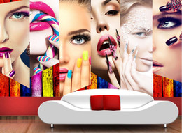 тв-макияж Скидка Пользовательские 3D фото обои для стен 3 д макияж гостиная салон диван ТВ фоне 3D обои стен