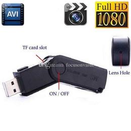 MINI USB Disk camera Full HD 1080P USB Flash Drive Supporta la ricarica della fotocamera durante la registrazione del mini registratore video audio U-disk DVR nero M2 da