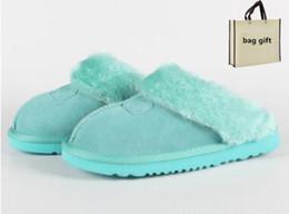 Australia Classic WGG Warm Pelz slippCotton Hausschuhe Männer und Frauen Hausschuhe kurze Stiefel Damen Stiefel Schnee Stiefel Baumwolle Hausschuhe Dias von Fabrikanten