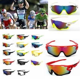 Lunettes de cyclisme Lunettes de soleil de cyclisme Coupe-vent sport coupe-vent multicolore femmes hommes lunettes de mode 14 COULEURS FFA108 120PCS ? partir de fabricateur