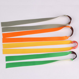 Schleuderzubehör online-1 cm Dicke Slingshot Gummiband Super Hohe Elastische Power Für Katapult Spielzeug Nützliche Zubehör 24 cm Lenght Gürtel 1 2xy ZZ