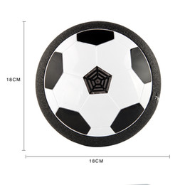 Wholesale Movement Lights - New Novel LED Light Football Toys Ball Disc Indoor Football Toy Suspension Football Parent-child Interaction Decompression Toy