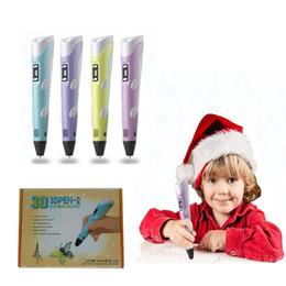 Marka yeni Noel hediyesi pla 3d yazıcı filament 1.75mm evrensel baskı kalem diy ücretsiz kargo nereden yeni marka yazıcı tedarikçiler