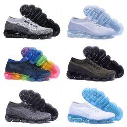 Wholesale sneakers belts - 2018 New moc black belt Mens Running Shoes For Men Sneakers Women Fashion Athletic Sport ShoeWalking Outdoor Shoe
