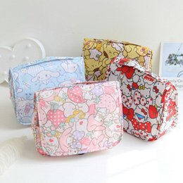 8ae81689ecd Kawaii My Melody Hello Kitty Cinnamoroll Pudding Dogs Necessaire Toiletry  Bag Trip Makeup Case Cosmetic Bag Travel Folding